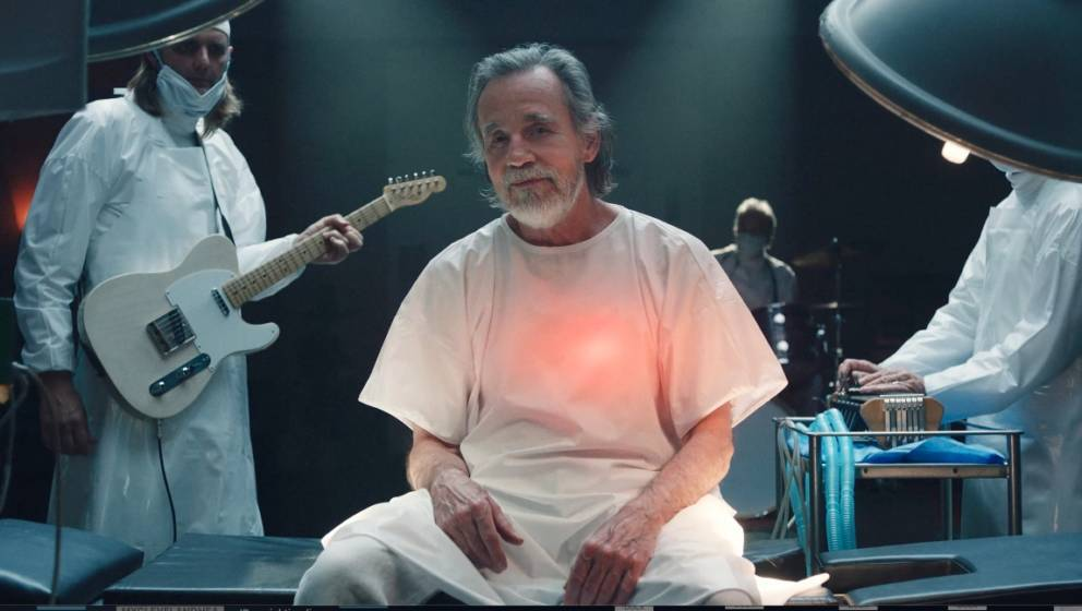 Screenshot: Jackson Browne in seinem neuen Musikvideo.