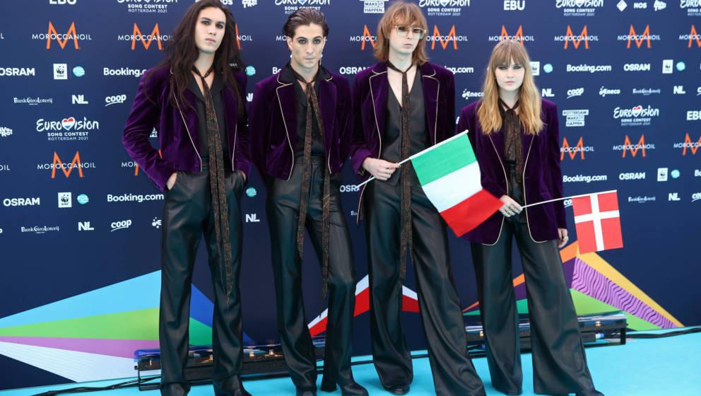 Måneskin aus Italien haben den ESC 2021 für sich entschieden.