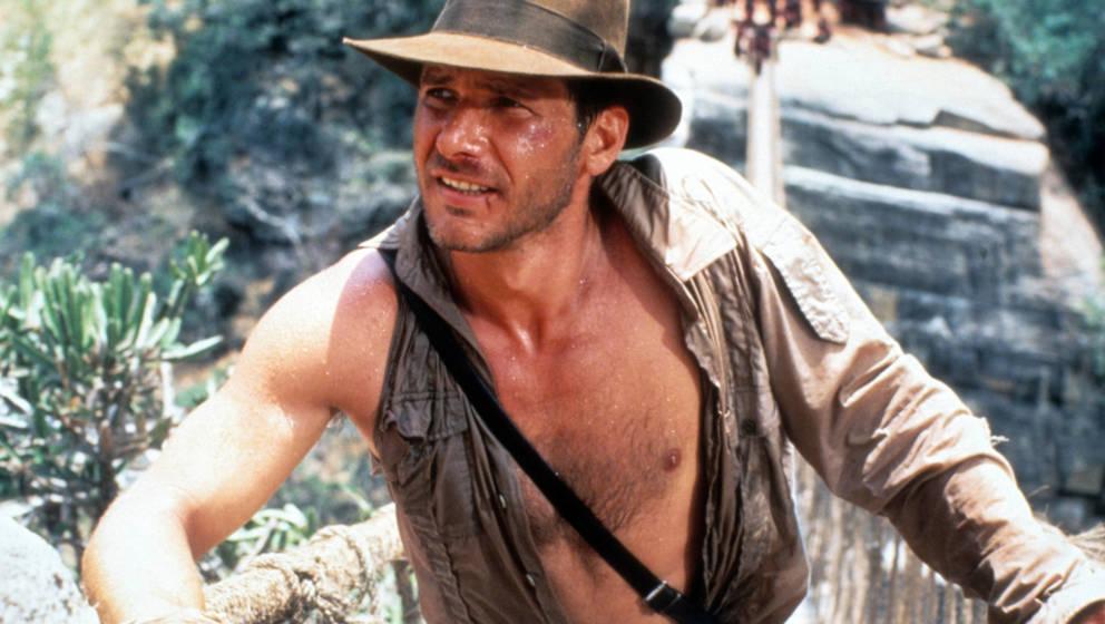 Harrison Ford 1984 als Indiana Jones