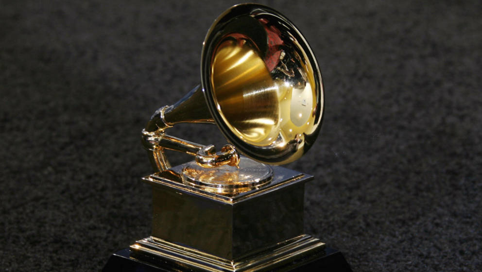 Los Angeles, UNITED STATES: The trophy of the Grammy Awards in Los Angeles 11 February 2007. AFP PHOTO/Gabriel BOUYS (Photo c