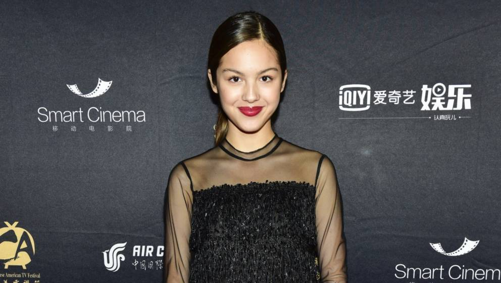HOLLYWOOD, CALIFORNIA - OCTOBER 30: Actress Olivia Rodrigo attends the Chinese American Film Festival Opening Ceremony and Go