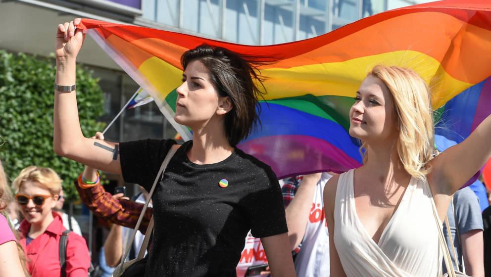 CSD-Veranstaltungen in ganz Deutschland gehören zum Programm des Pride Month