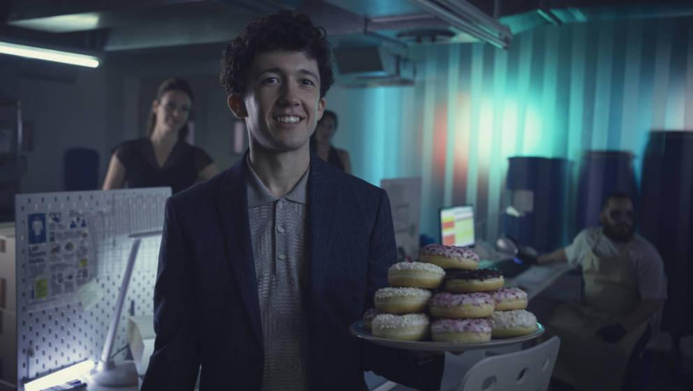 Maximilian Mundt als Moritz in der Serie 'How To Sell Drugs Online (Fast)'. Die dritte Staffel läuft im Juli auf Netflix.