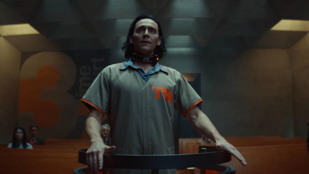 Tom Hiddleston in der neuen Serie 'Loki'. Seit Juni auf Disney+.