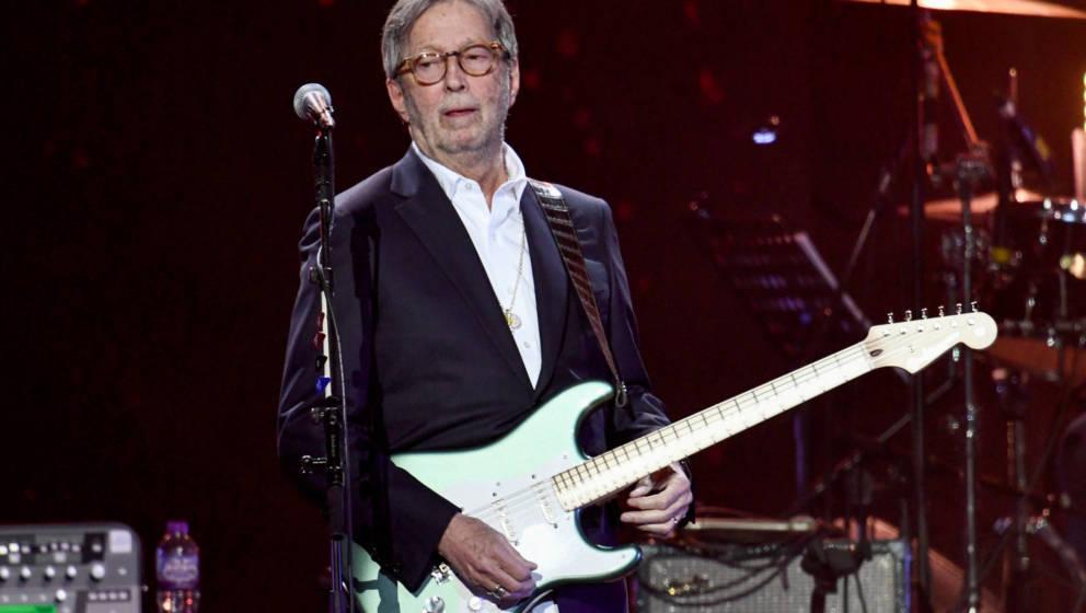 Eric Clapton 2020 in London.
