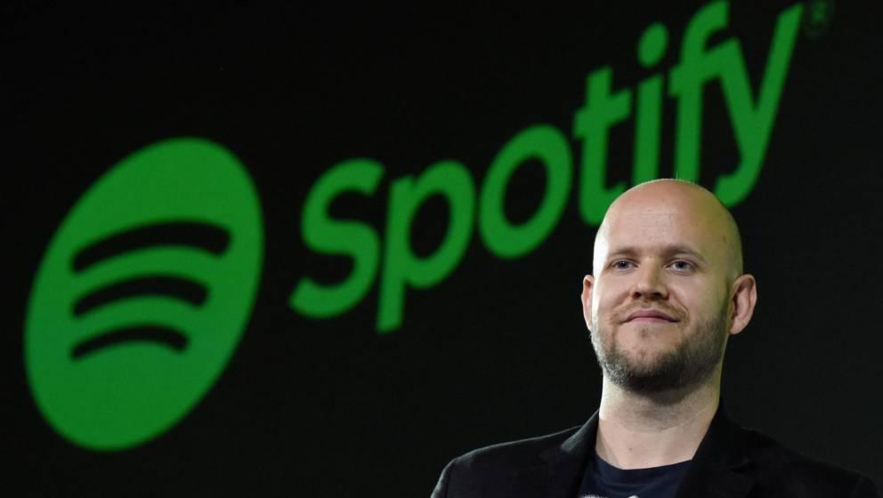 Spotify-CEO Daniel Ek