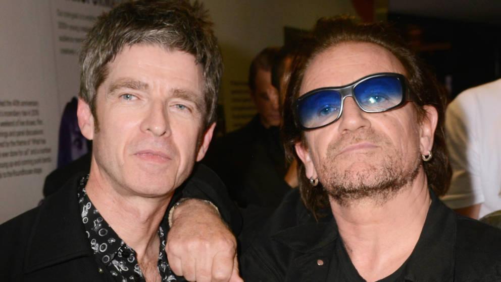 Schon lange gut befreundet: Noel Gallagher und Bono