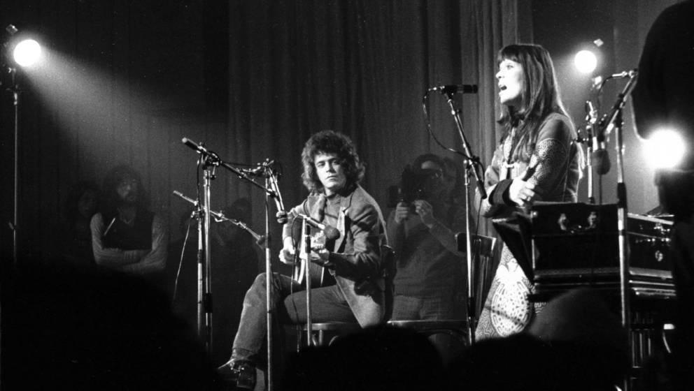 Velvet-Underground-Sänger Lou Reed und Nico
