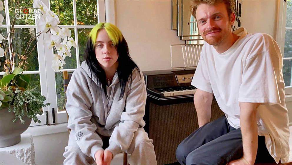 Billie Eilish und Finneas.