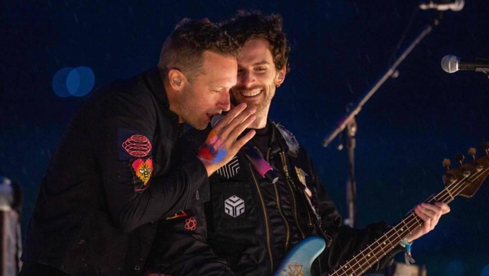 Coldplay beim Glastonbury Festival 2021