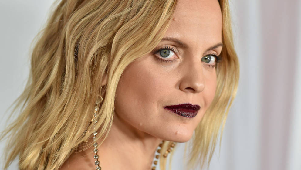 HOLLYWOOD, CALIFORNIA - OCTOBER 26: Mena Suvari attends FX's 'American Horror Story' 100th Episode Celebration at Hollywood F