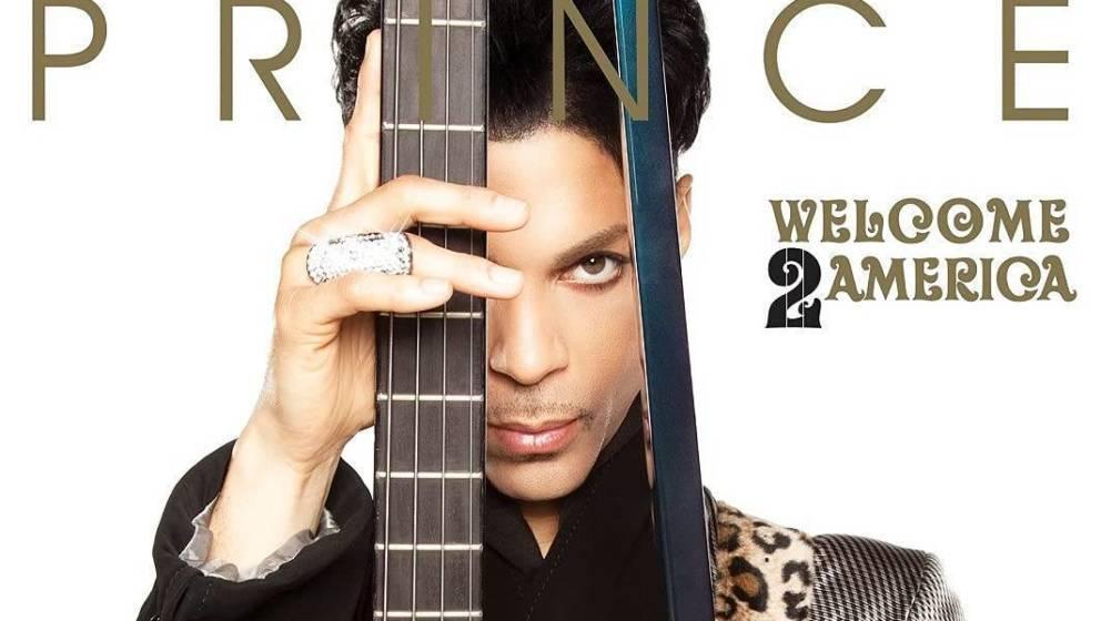 "Cover von ""Welcome 2 America"" von Prince"