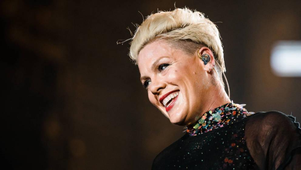 Seit Jahren auch als Aktivistin bekannt: US-Popstar Pink