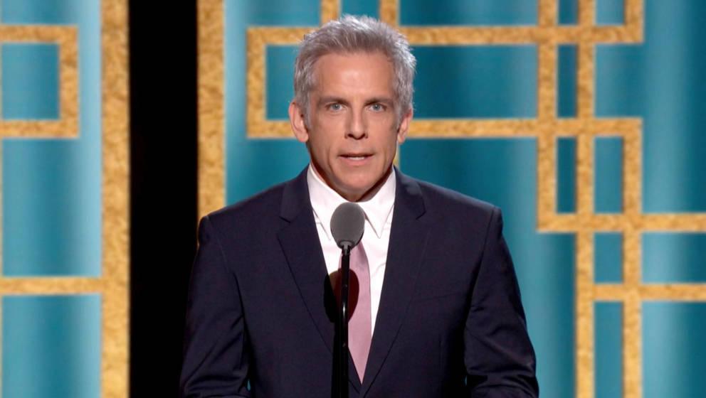 Ben Stiller 2021 bei den Golden Globes.