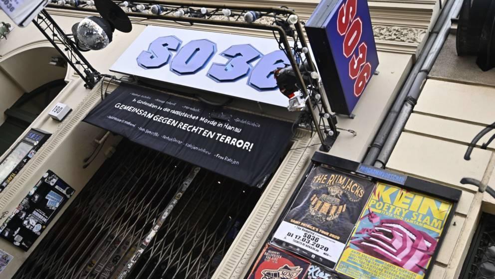 Gehört zu den Clubs, die an dem wissenschaftlich begleiteten Berliner Projekt teilnehmen: SO36