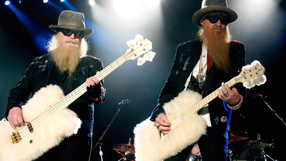 Dusty Hill (links) und Billy Gibbons von ZZ Top