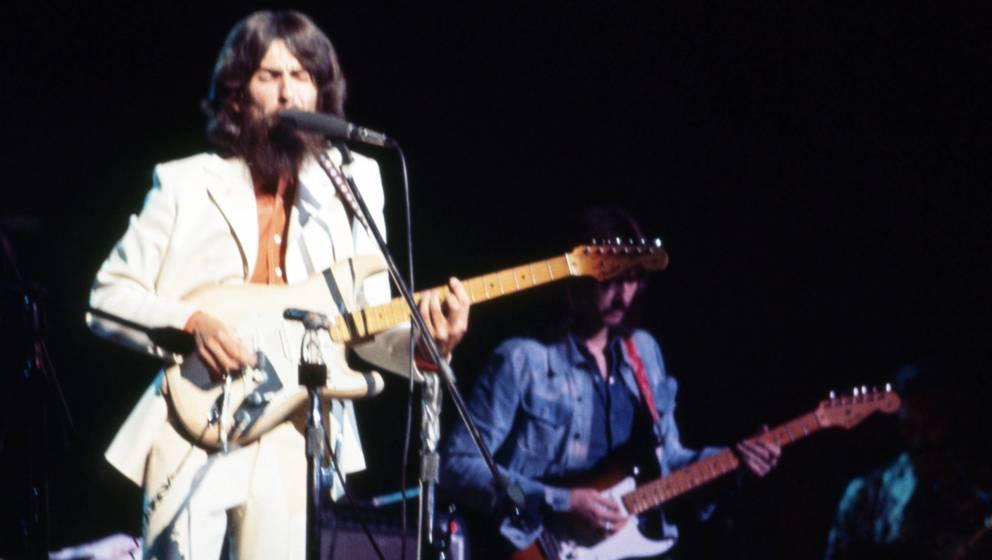 George Harrison beim Benefizkonzert The Concert For Bangladesh