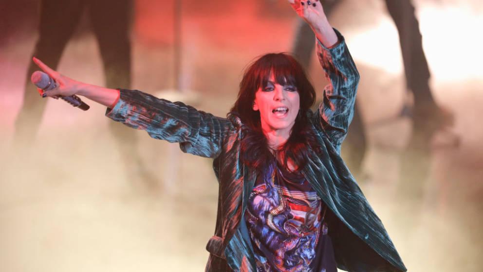HUERTH, GERMANY - DECEMBER 03:  Nena performs  at '2017! Menschen, Bilder, Emotionen' TV Show on December 3, 2017 in Huerth,