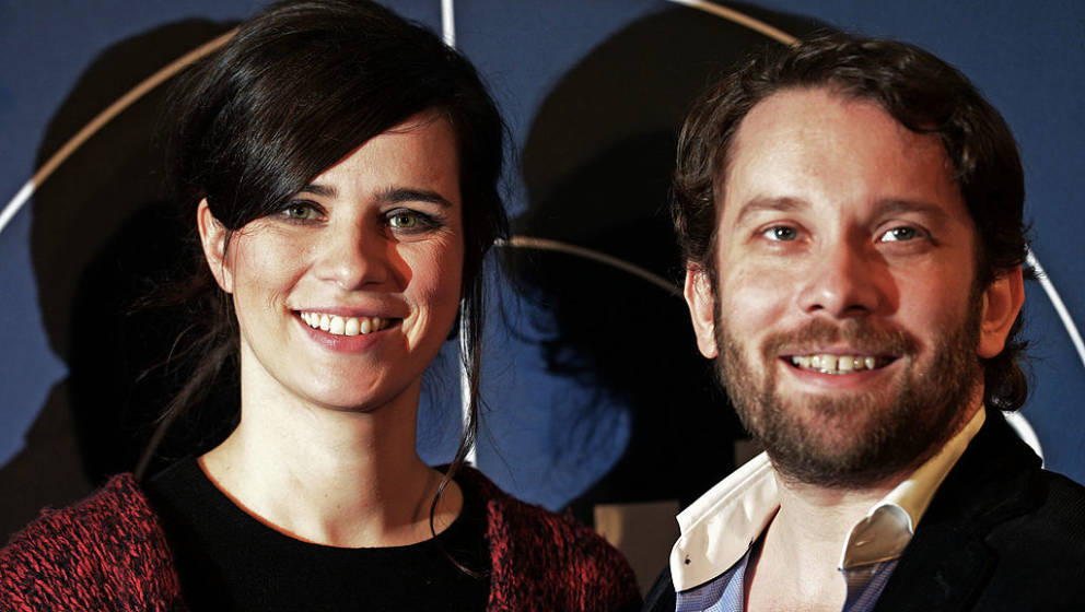 WEIMAR, GERMANY - DECEMBER 12:  Nora Tschirner and Christian Ulmen attend the premiere of 'Tatort - Die Fette Hoppe' at Deuts