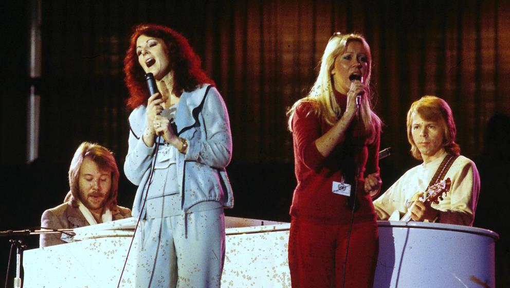 Die zarten Stimmen von ABBA: Anni-Frid Lyngstad und Agnetha Faltskog