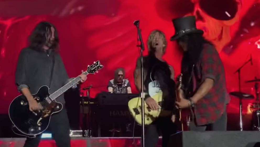 Guns N'Roses mit Dave Grohl