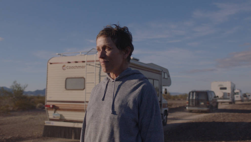 Frances McDormand in the film NOMADLAND. Photo Courtesy of Searchlight Pictures. © 2020 20th Century Studios All Rights Rese