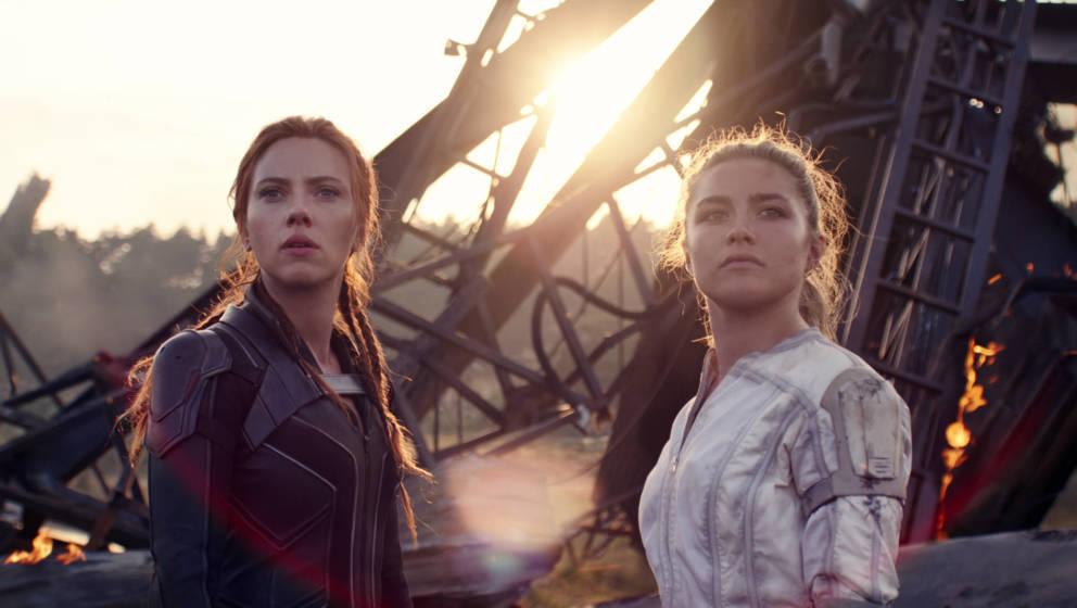Scarlett Johansson und Florence Pugh in 'Black Widow'. Seit Oktober für alle Abonnenten auf Disney+ verfügbar.