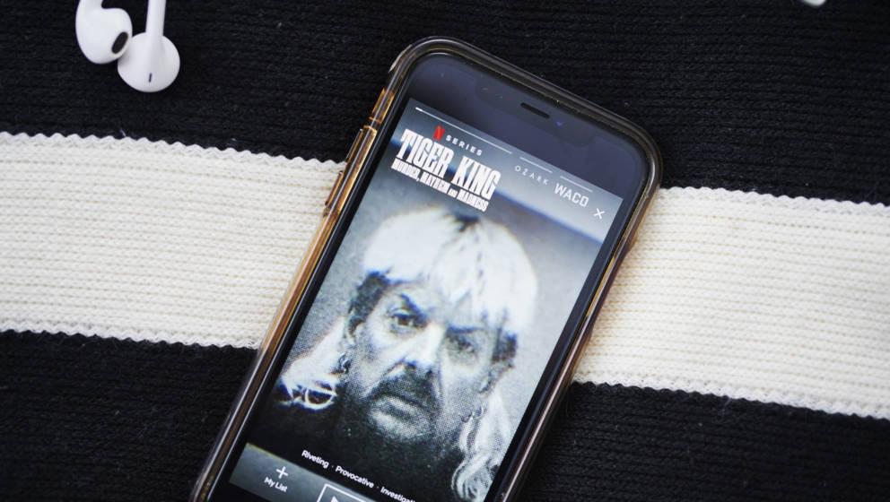 "The Netflix Inc.: True-Crime Dokumentation ""Tiger King"" Photographer: Gabby Jones/Bloomberg via Getty Images"