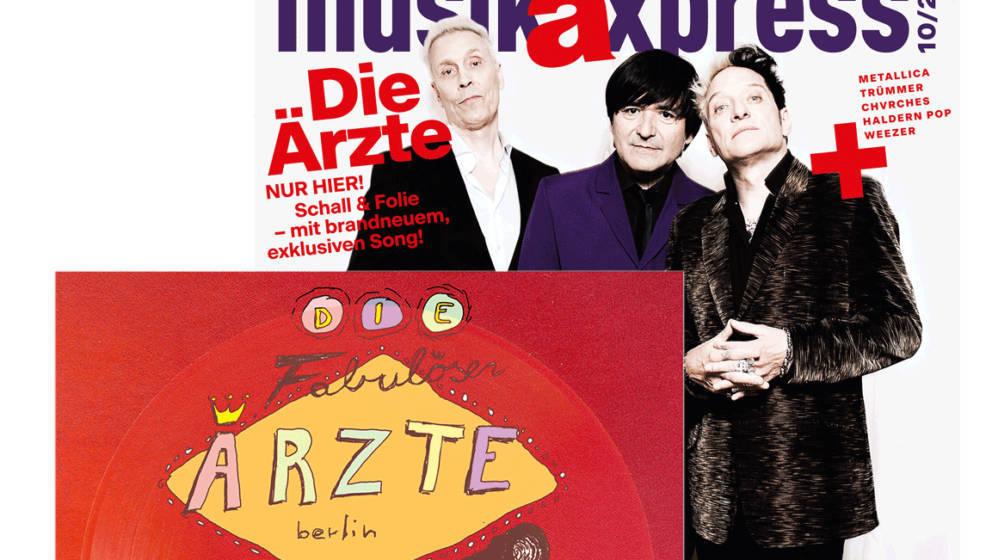 Cover der Oktober-Ausgabe des MUSIKEXPRESS
