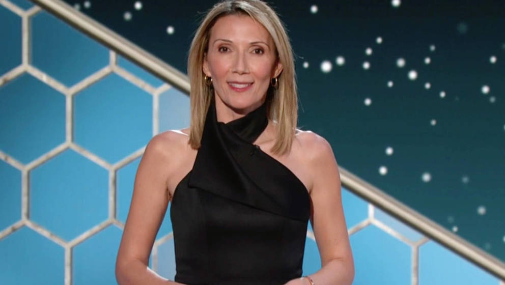 Helen Höhne bei den Golden Globe Awards
