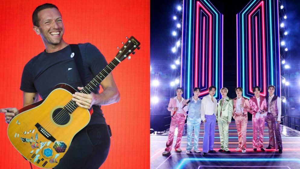 Coldplay und BTS