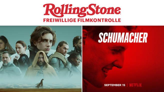 "Kritik: Wir klären, ob man ""Dune"" und ""Schumacher"" sehen muss"