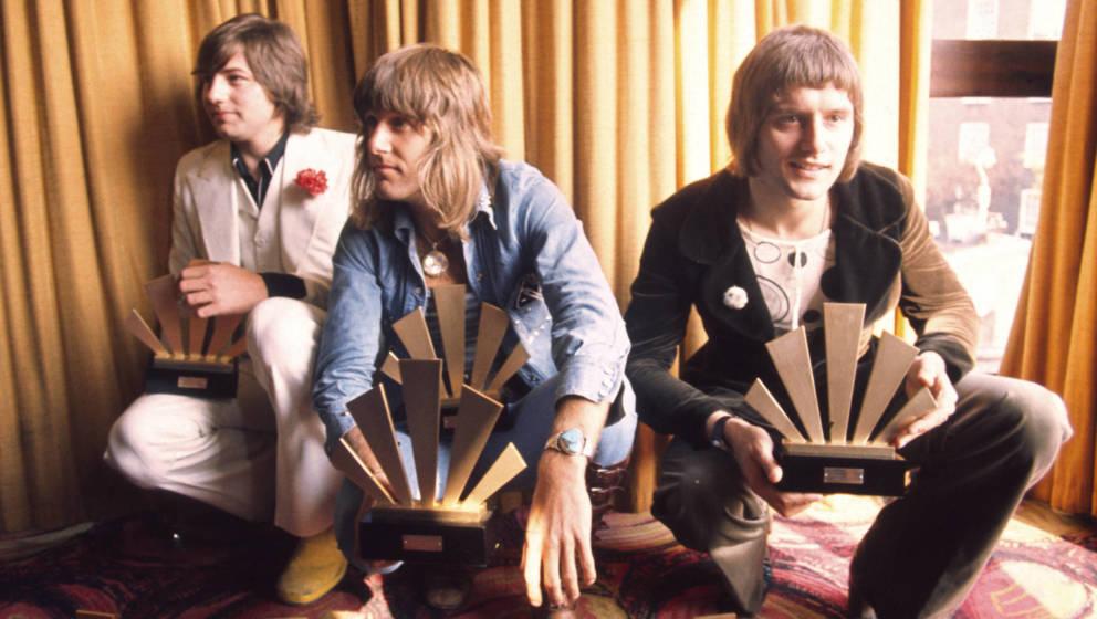 Die britische Supergroup Emerson Lake & Palmer fanden 1970 zusammen. (Photo by Chris Walter/WireImage)