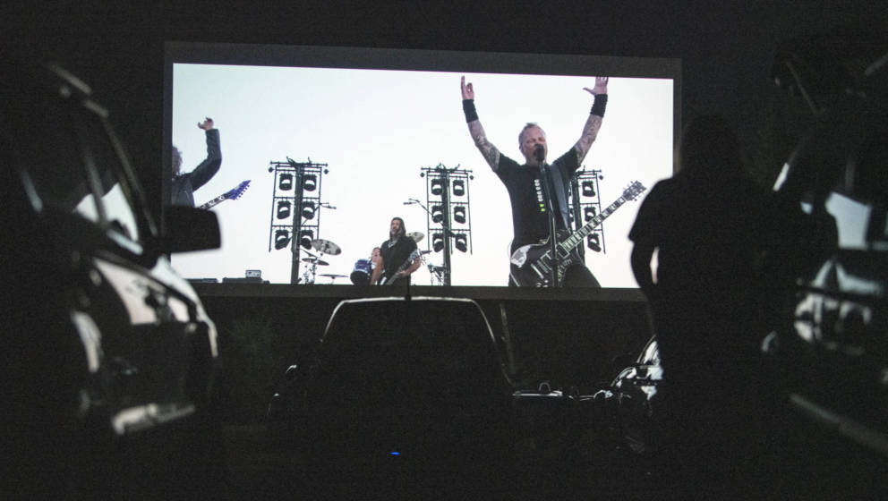 Metallica war trotz Quarantäne während der Pandemie produktiv.