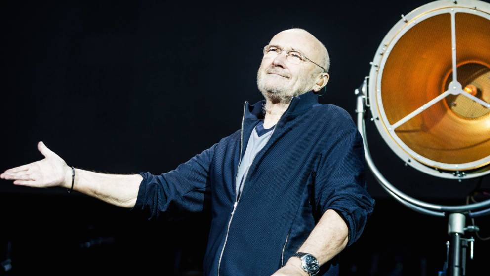 Sänger Phil Collins steht mit Genesis wieder auf der Bühne
