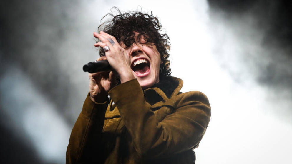ANAHEIM, CALIFORNIA - NOVEMBER 14: LP performs onstage at City National Grove of Anaheim on November 14, 2020 in Anaheim, Cal