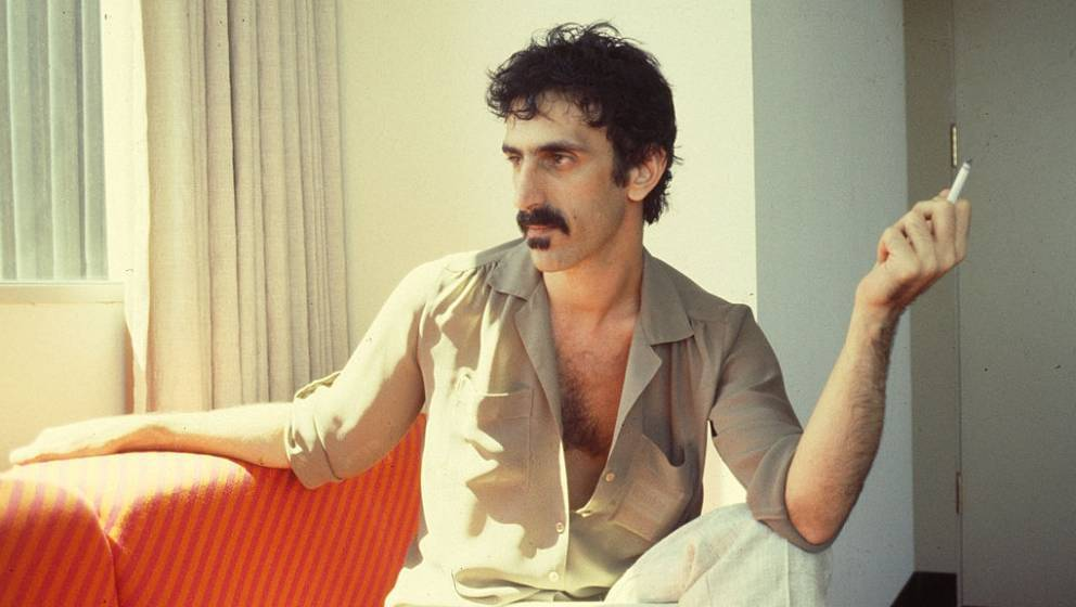 Frank Zappa at Utility Muffin Research Kitchen, his home studio in Laurel Canyon, 1982 (Photo by Chris Walter/WireImage)