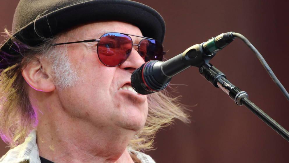 Unermüdlich kreativ: Neil Young