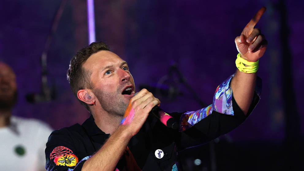 Coldplay live 2021