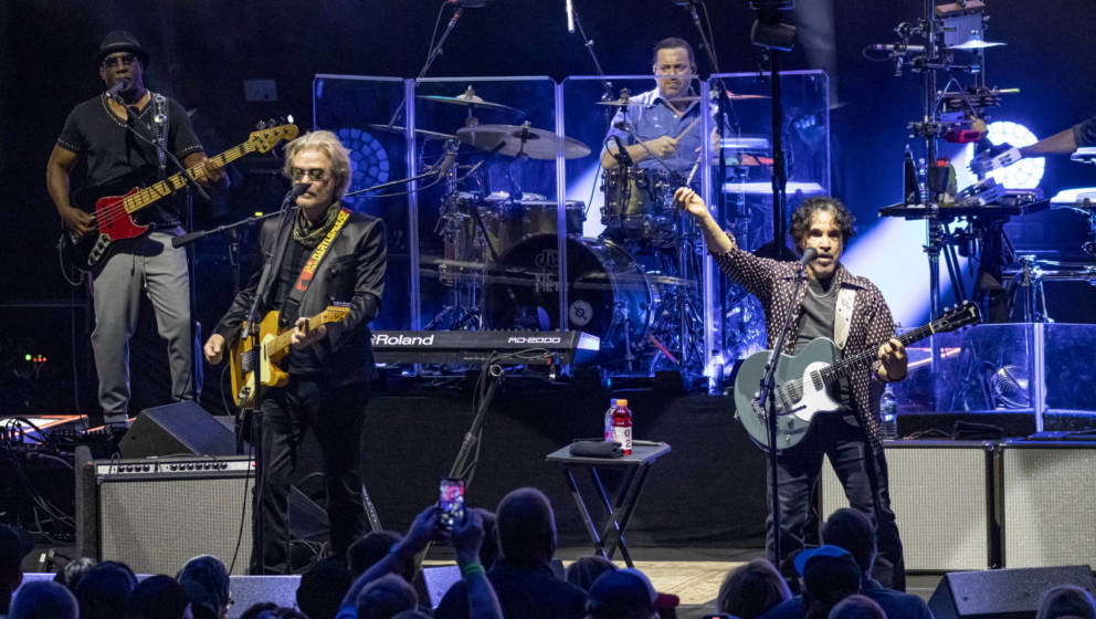 Daryl Hall und John Oates live im DTE Energy Music Theater am 21. August 2021 in Clarkston, Michigan