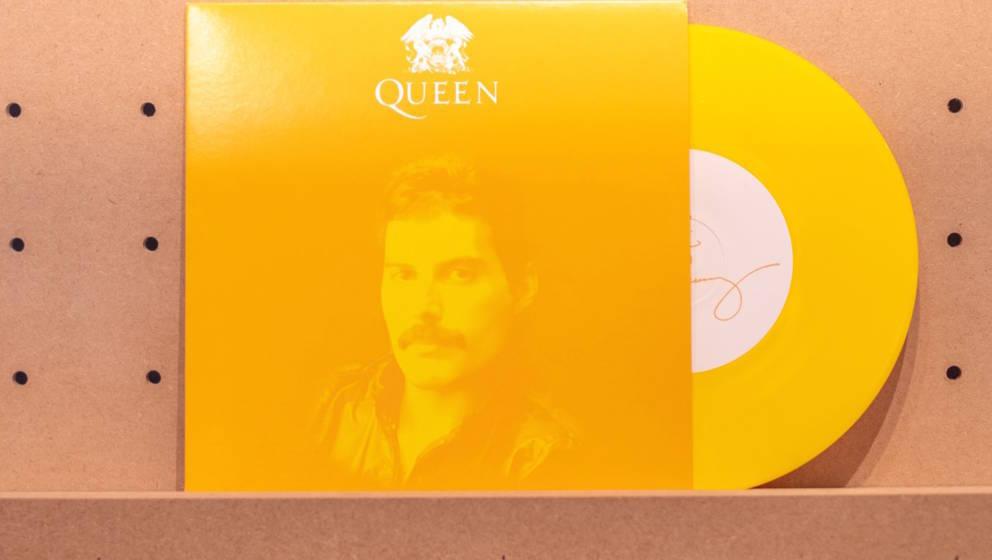 Begehrtes Sammlerobjekt: Limitierte Vinyl-Single mit Songs von Freddie Mercury