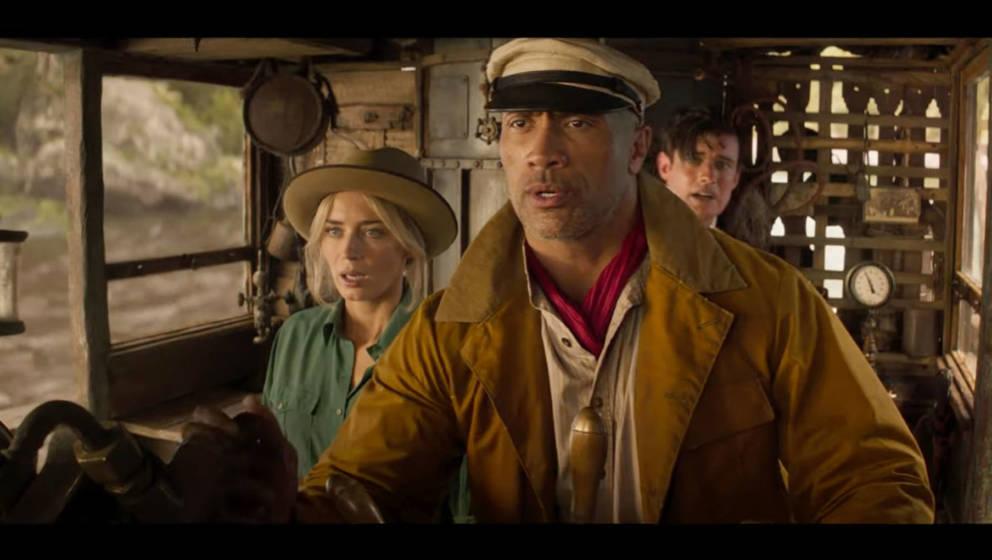 """In """"Jungle Cruise"""" müssen die Protagonisten gegen das Übernatürliche kämpfen"""