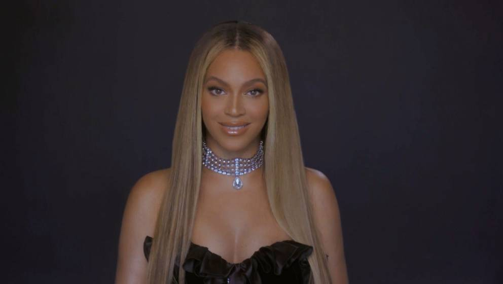 VARIOUS CITIES - JUNE 28: In this screengrab, Beyoncé is seen during the 2020 BET Awards. The 20th annual BET Awards, which
